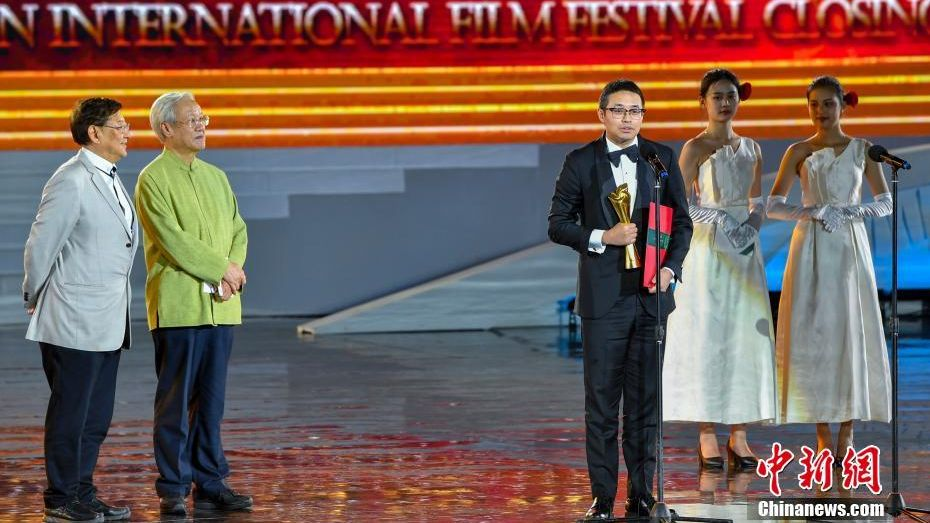 The first Hainan International Film Festival ended on Sunday.