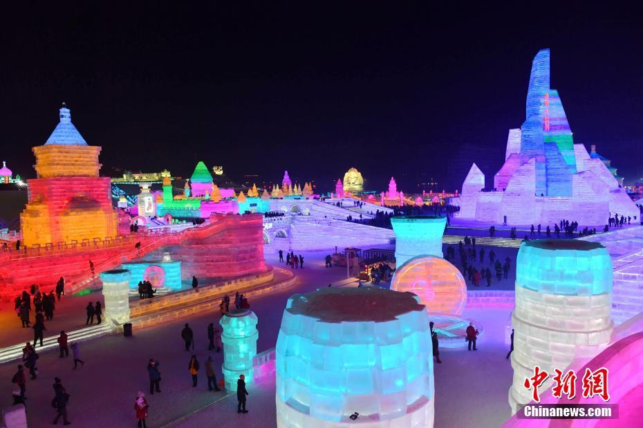World's largest ice and snow sculpture festival to begin in north China