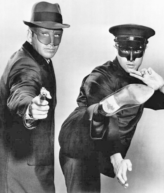 Publicity still from the TV show Green Hornet