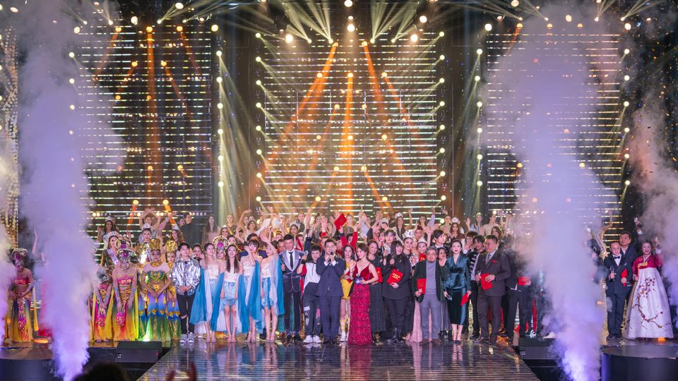 Opening ceremony of the Third Belt and Road Fashion Week