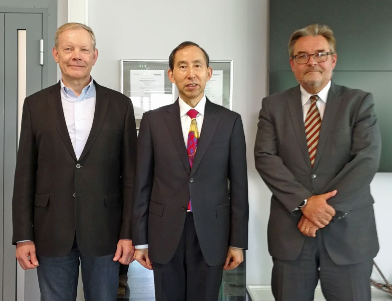 CIICC delegation visits Finnish waste treatment plant