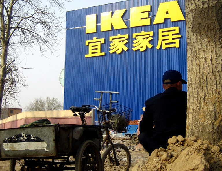 IKEA sources about 20 percent of its products from China, which makes it its top country of production.