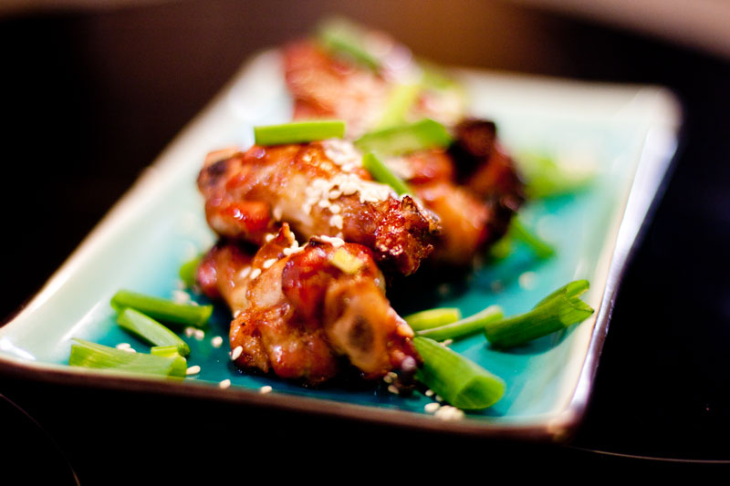 Chinese Fusion Cuisine Hoisin Sauce Baked Chicken Wings Gbtimes