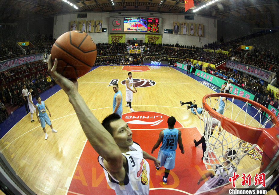 Guangdong takes 2-0 lead in CBA playoff finals