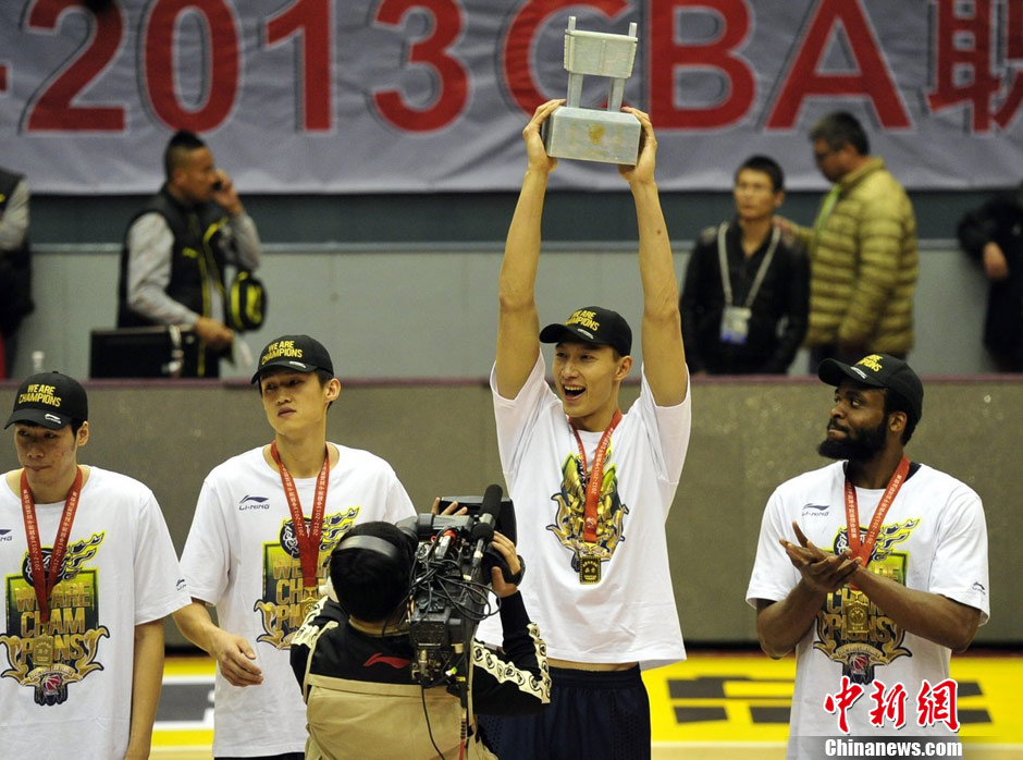 Guangdong wins eighth CBA title