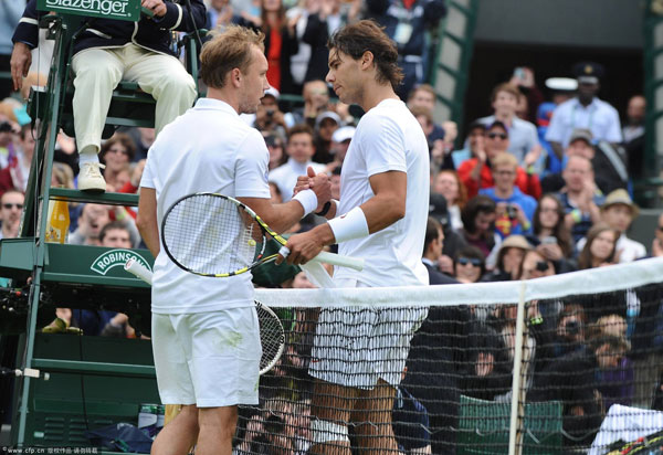 Wimbledon 2013: Nadal sensationally dumped out in first round