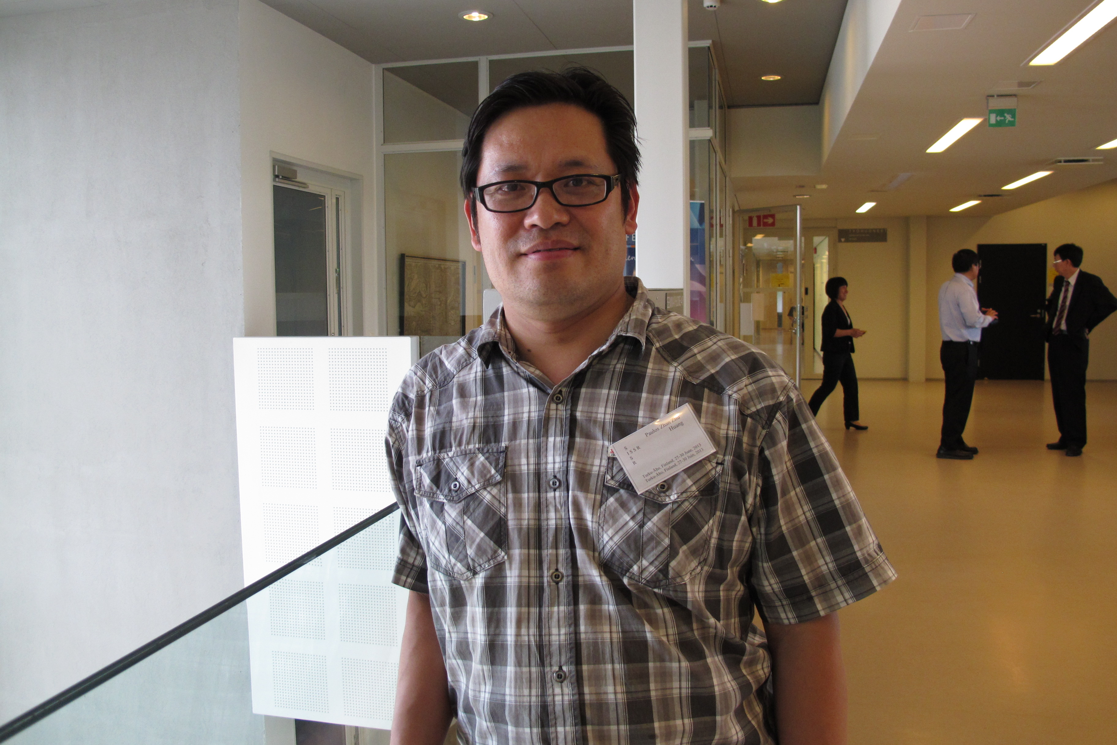Huang Paulos is pastor of the Chinese-speaking International Evangelical Congregation in the Helsinki area and Adjunct-Professor/Docent of the University of Helsinki.