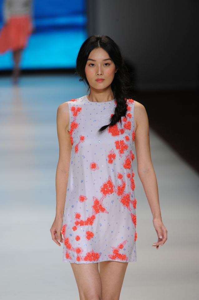Calla Haynes S/S 2014 collection, presented at HK Fashion Extravaganza 13 January 2014