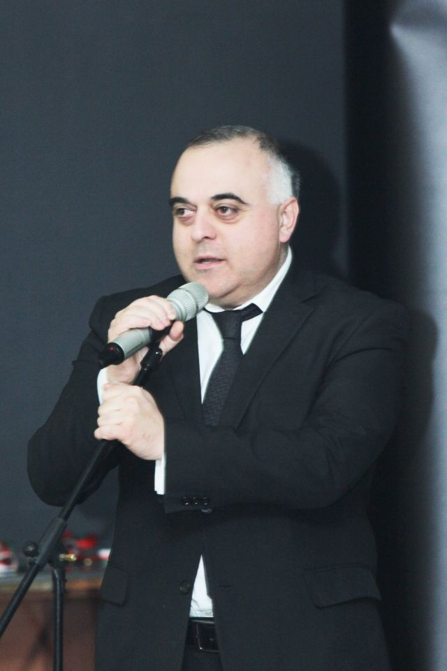 Minister of Sport and Youth Affairs of Georgia - Levan Kipiani