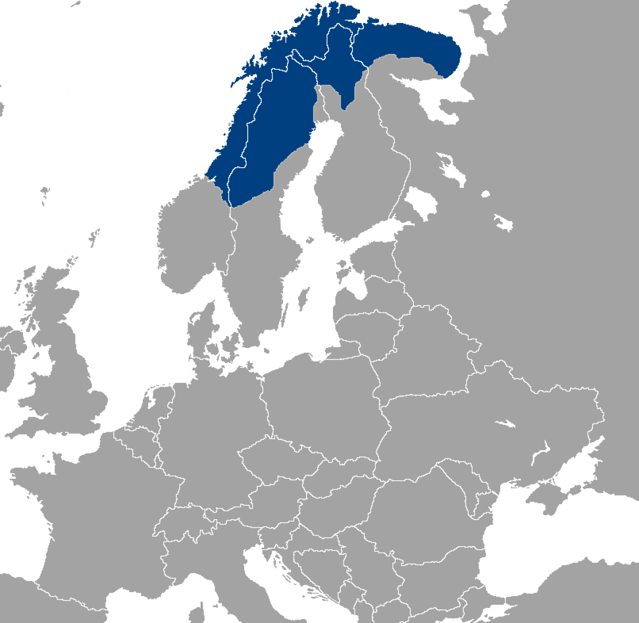 The Sámi live in Sápmi, which stretches across the northern parts of Norway, Sweden, Finland and the Kola Peninsula in Russia.