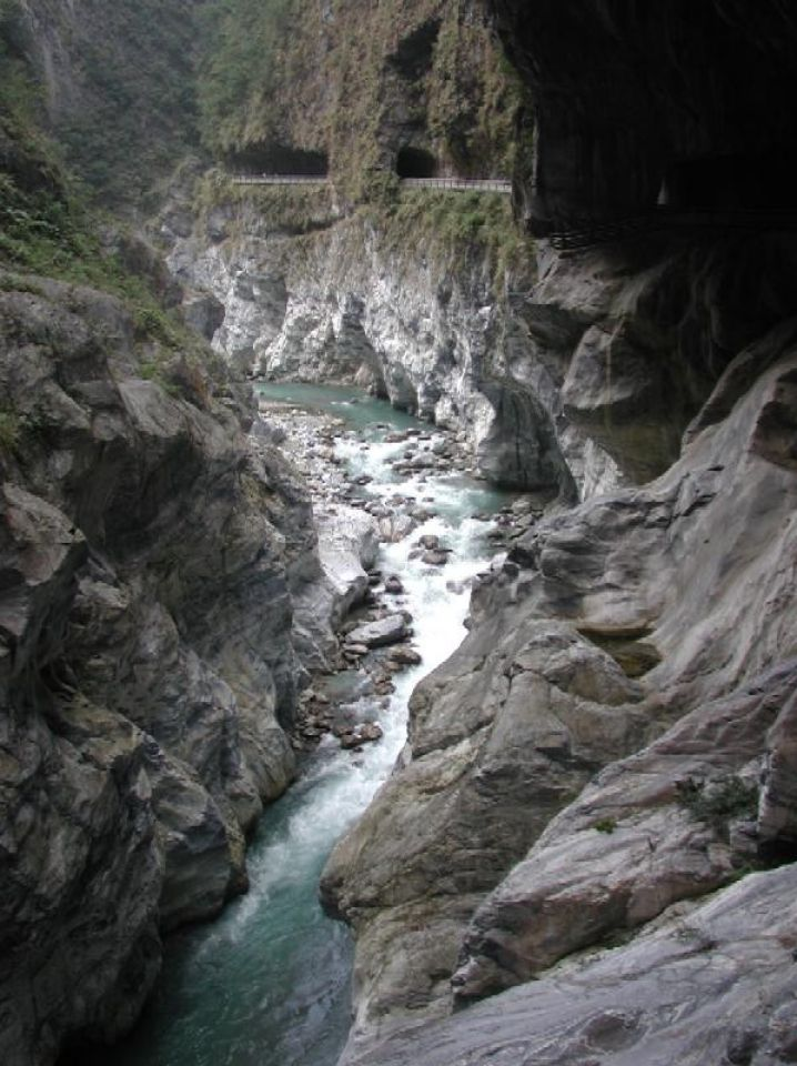 Taroko National Park is one of Taiwan's eight national parks.