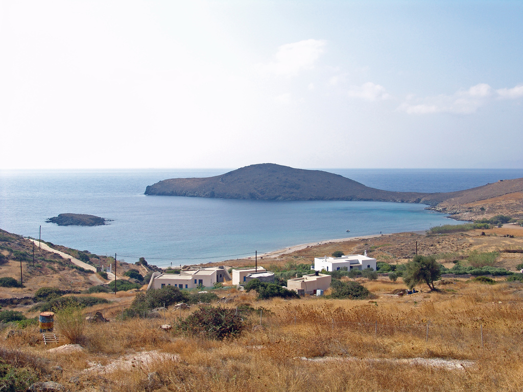 Another one of Syros' beaches, called