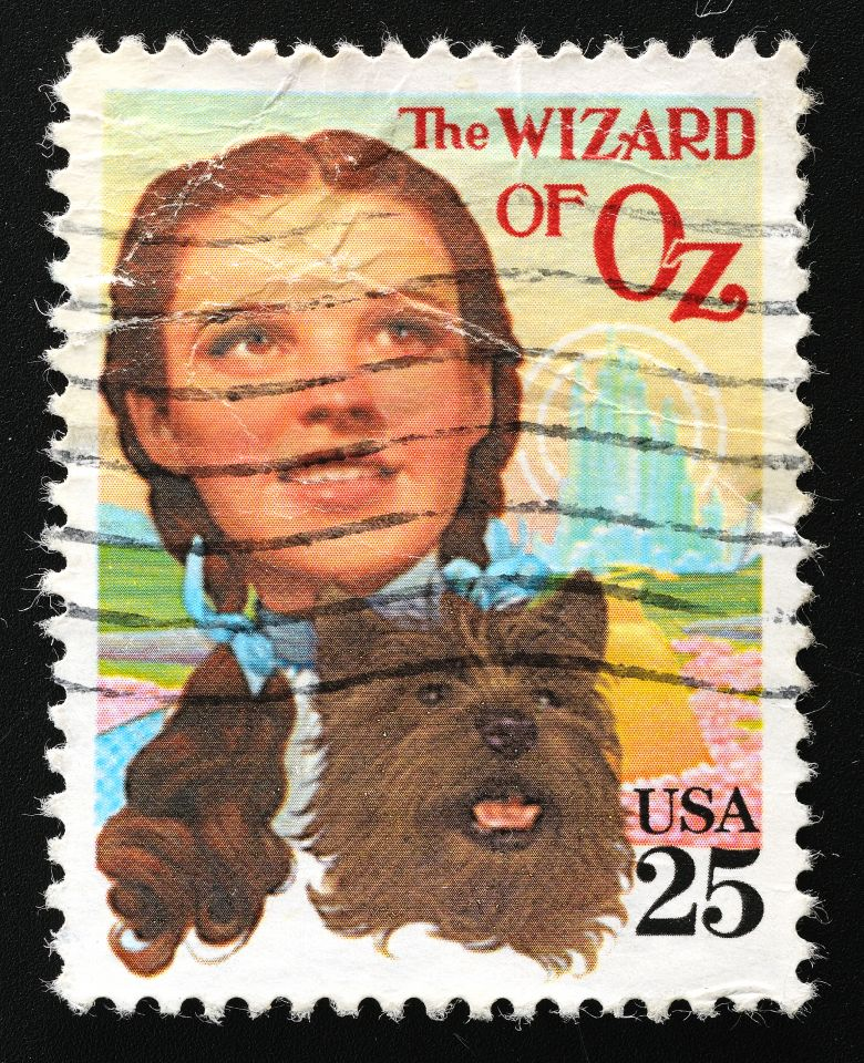 """Toto, I've a feeling we're not in Kansas anymore"" was fourth in the American Film Institute's '100 Years...100 Movie Quotes' – ""There's no place like home."" was 23rd. Toto, played by Terry the dog, was paid US$125 per week."