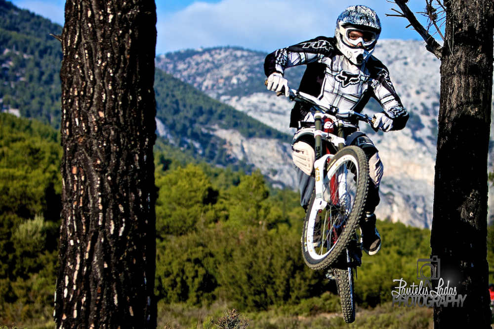 Athenian mountain-bikers grab their expensive gear and head to Parnitha on the weekends