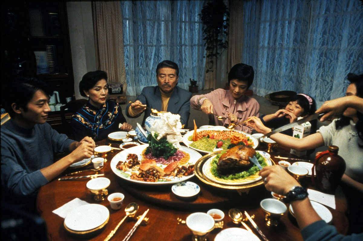 Eat Drink Man Woman (1994) concluded Ang Lee's 'Father Knows Best' trilogy and it received an Academy Award nomination for Best Foreign Language Film. The title is from the Book of Rites, a Confucian classic.