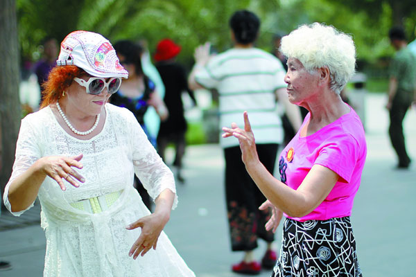 Dancing in public spaces is a growing phenomenon in China, especially among retired women freed from the necessity of going to work and caring for their children.