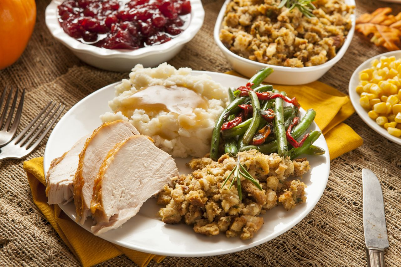 Roast or baked turkey is often the centerpiece on any Thanksgiving feast table, with 88% of Americans tucking into the bird. The average number of turkeys eaten is approximately 46 million.