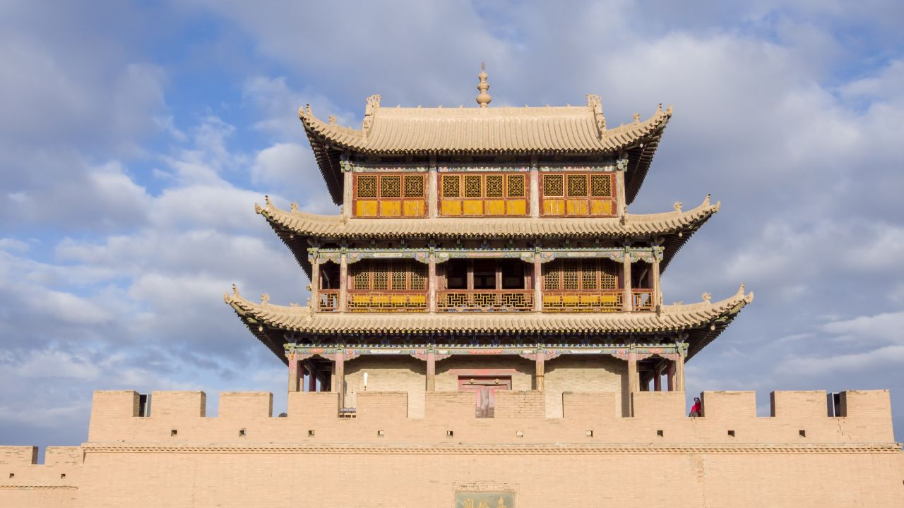 The Jiayu Pass was also one of the ancient gateways to the inner sanctum of the nation.