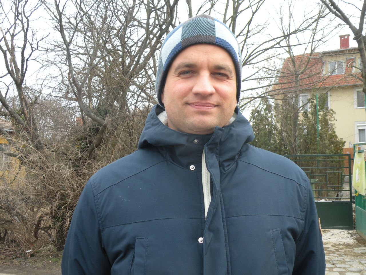 Dániel, 32, Hungary: To be a young father is a very good thing. I love to think that when I am 43 years old my son will be 20.