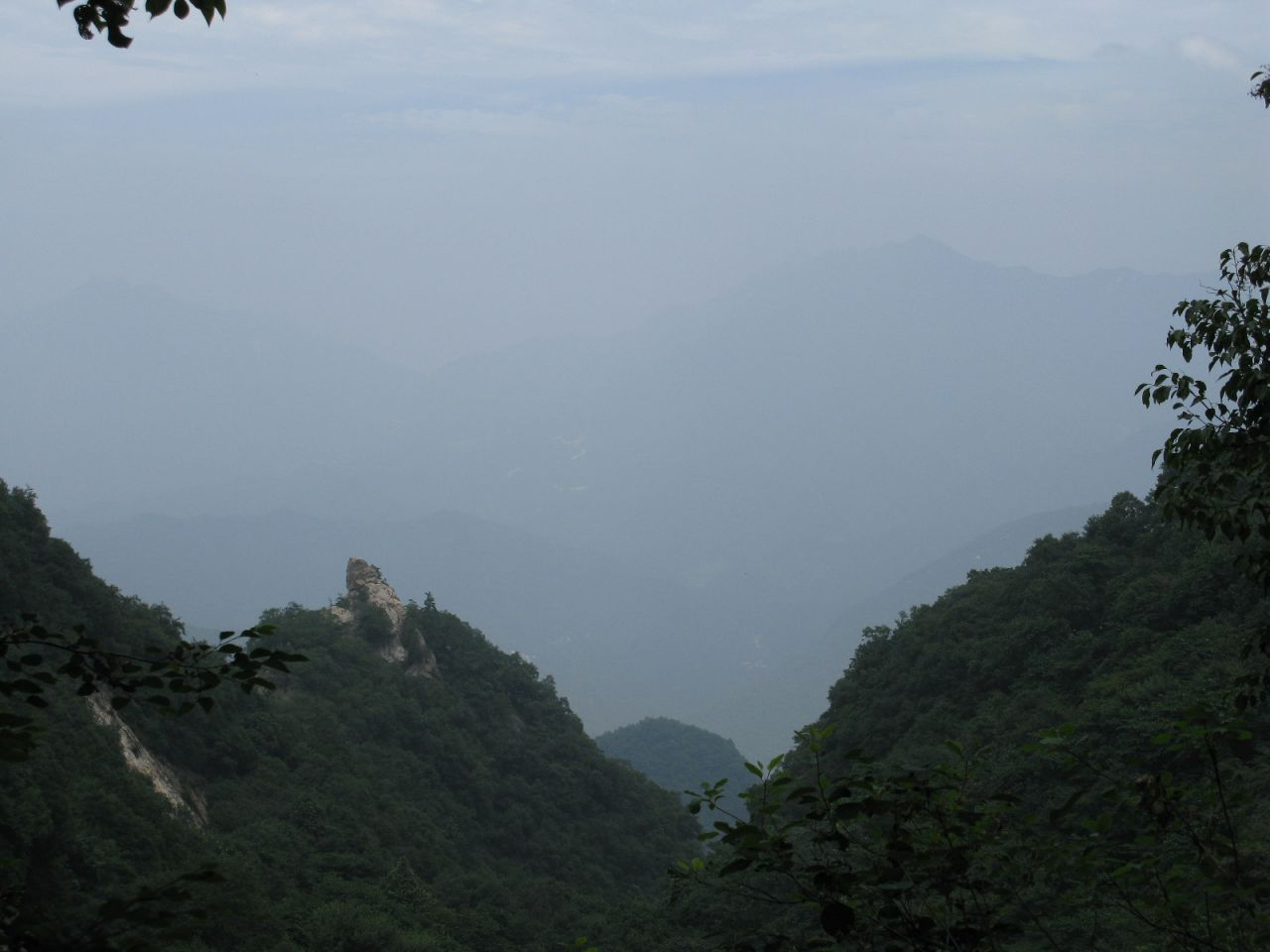 Qin Ling Mountains.