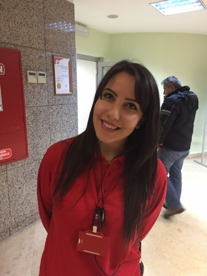 Aylin Belge, 23, assistant, Turkey: If I think of family, I think of strong relations and unreturned love.
