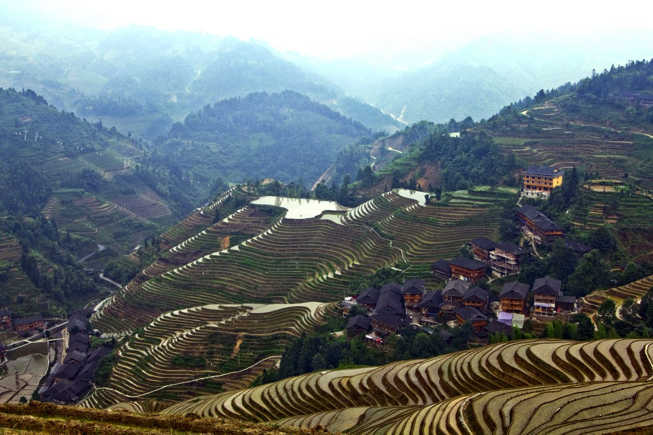 Longsheng Rice Terraces.