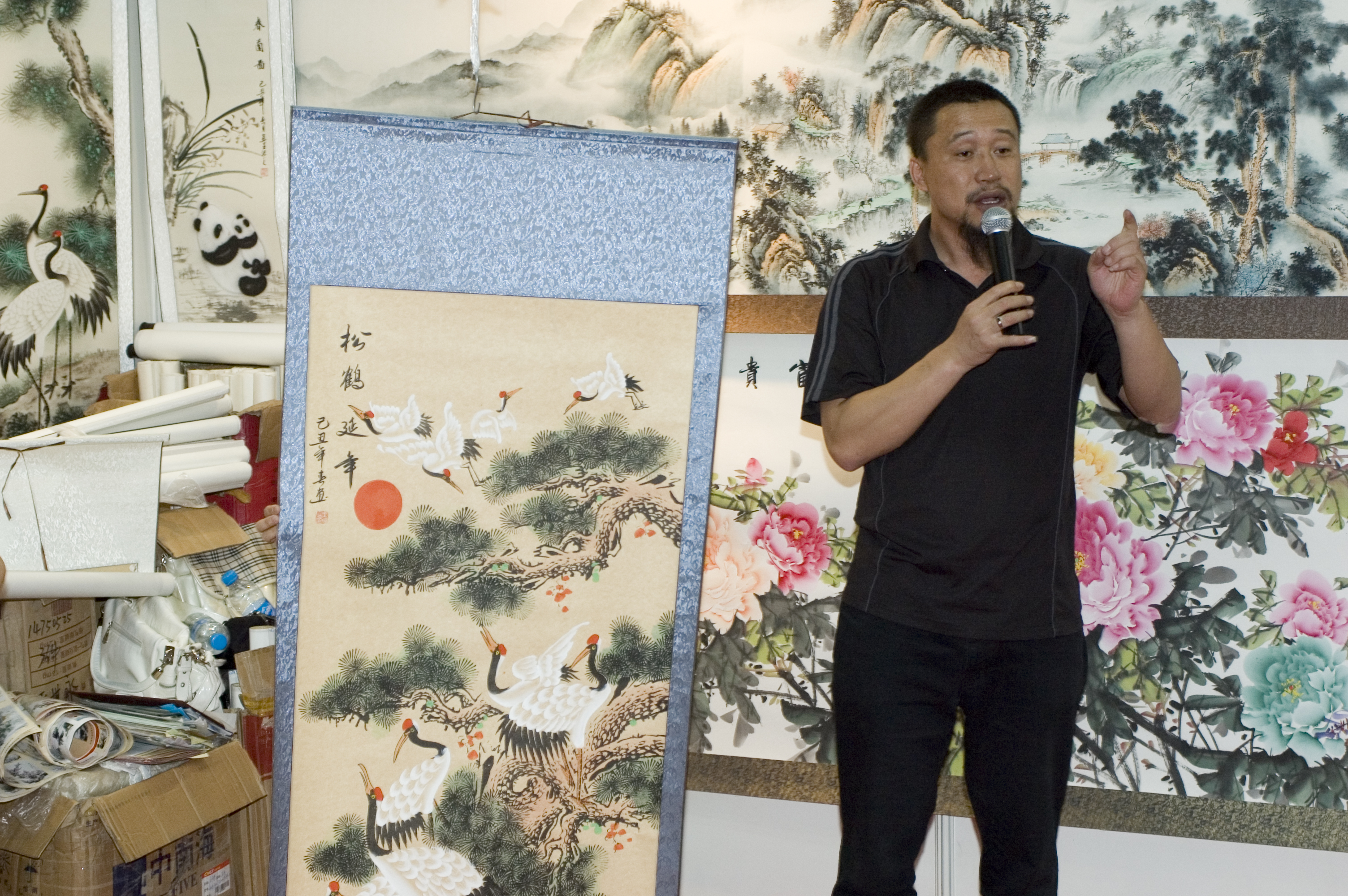 The booming Chinese arts market