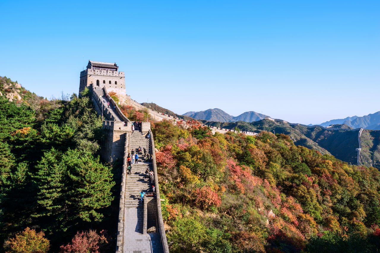 The best places to view the Great Wall