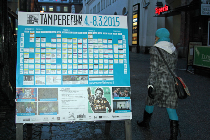 The Tampere Film Festival screens an average of 400 documentaries, animations and short films from over 30 countries every year.