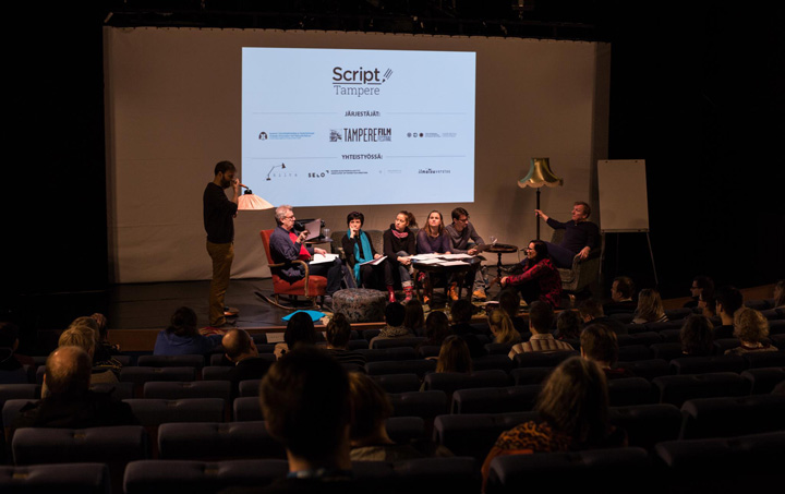 Alongside the screenings are script workshops (pictured), seminars and panel discussions to encourage guests to get the most out of the festival.