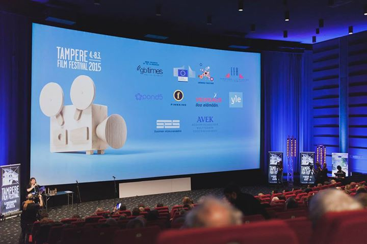 Tampere Film Festival's closing ceremony and award presentation is usually held in the factory-turned-cinema, Plevna.