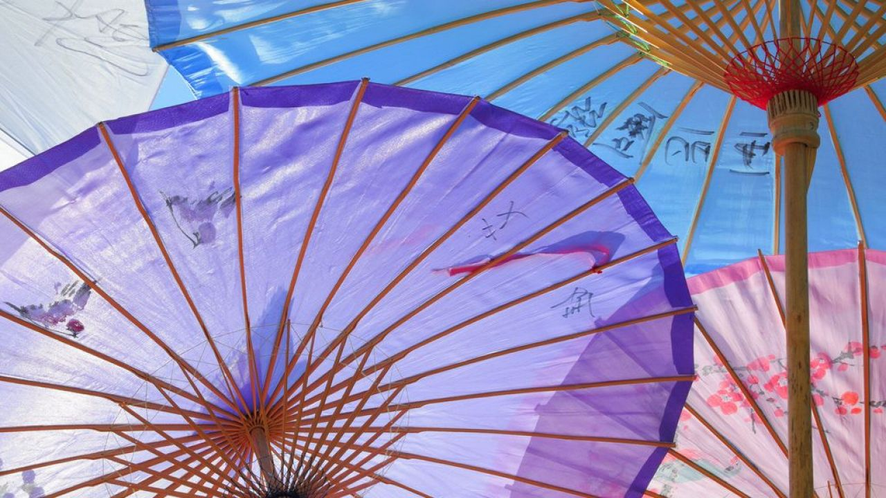 Chinese inventions: Umbrellas and parasols