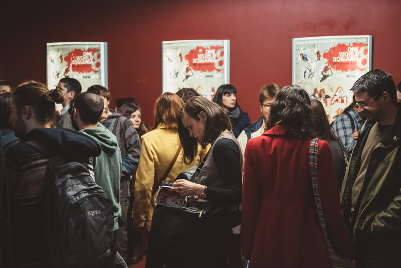 The opening night of the 8th One World Romania on March 16, 2015, attracted a large number of cinema-goers.