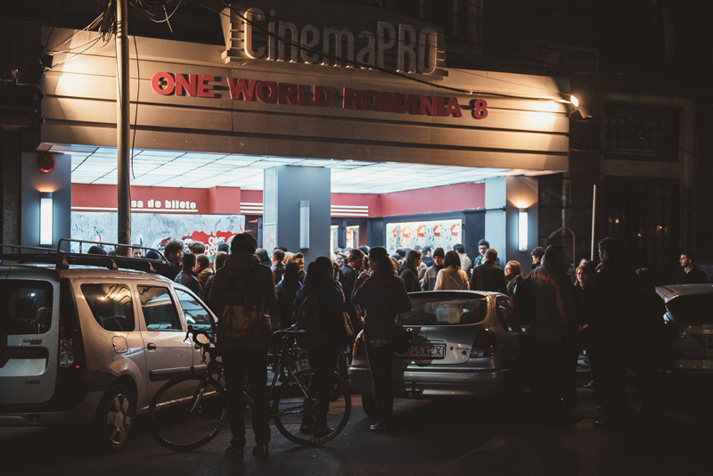 Cinema Pro in Bucharest was the venue of One World Romania's opening screenings.