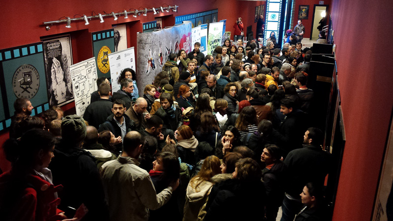 On the second night of the festival at Cinema Studio, the Oscar-winning documentary Citizenfour was screened to a full house.