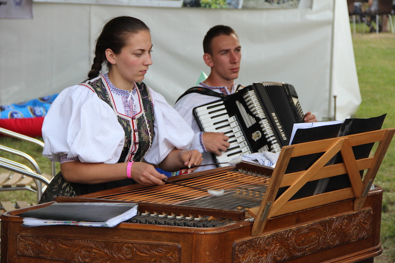 """Local food, national costumes and traditional music, combined with sunny weather, make this an unmissable event in the city. """"If you're not at the Gourmet Festival then you're not from Košice!"""" joked the organiser."""