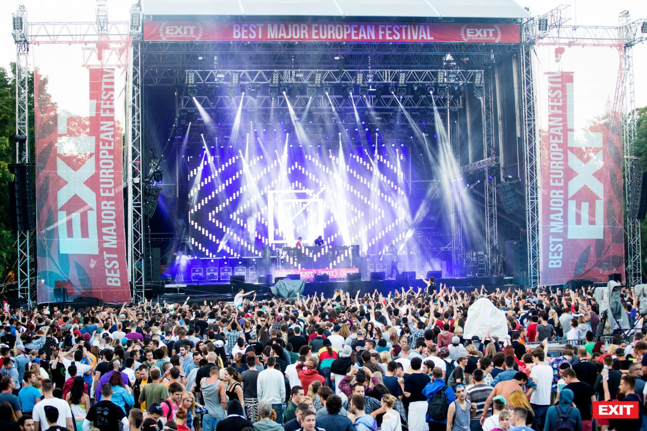 Serbia's EXIT Festival draws in Chinese music lovers
