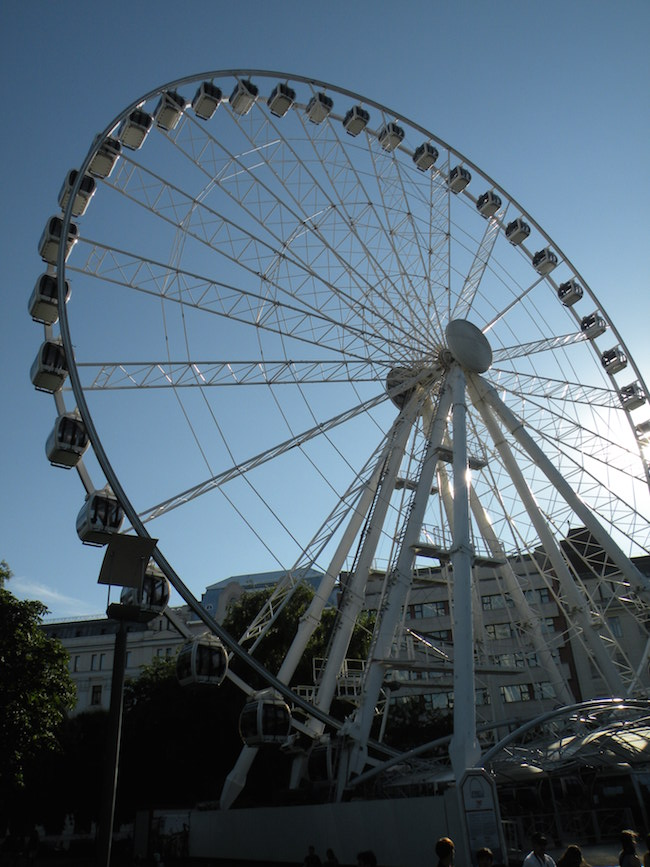 The Budapest Eye - one of the world's largest mobile Ferris Wheels