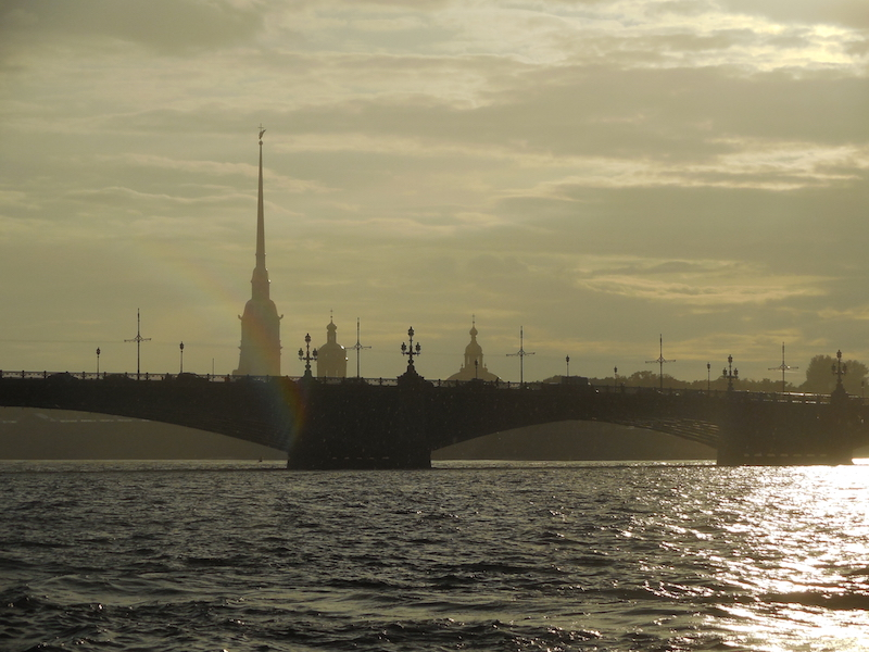 Summertime is rainy time in St. Petersburg