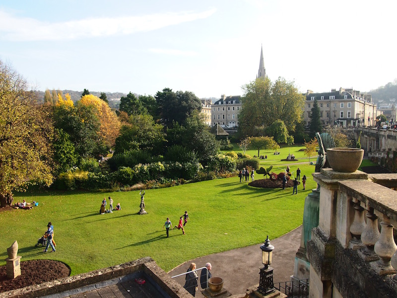 A Sunday afternoon in Bath, the city beloved by Jane Austen