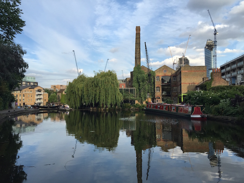 London 's Royal Albert Dock hides itself away from the buzz