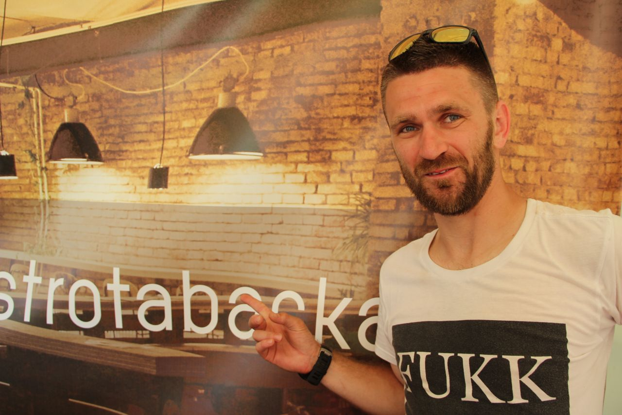 Richard Lacko is owner of the Bistro Tabačka in Košice, runs a catering company and is also part of the Košice Gourmet Festival organizing team.