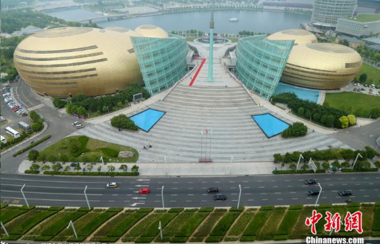 Henan Art Center, allegedly voted 'the ugliest building' in China, has sparked a heated discussion online. But it has turned out to be fake news.