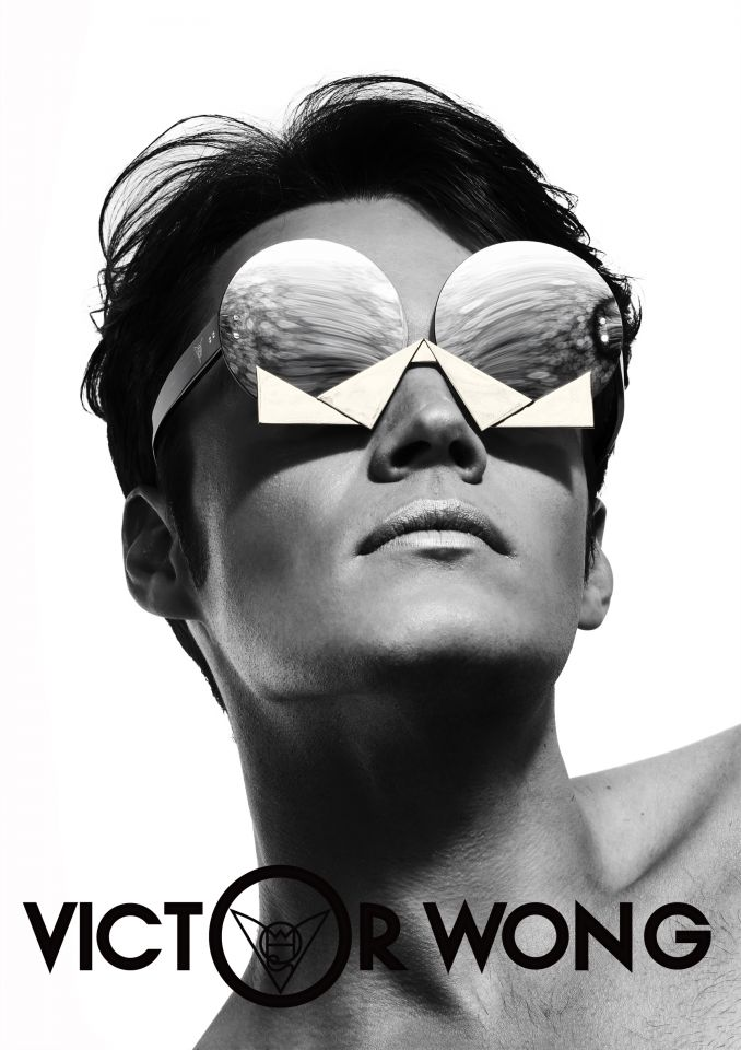 Victor Wong's sunglasses design.