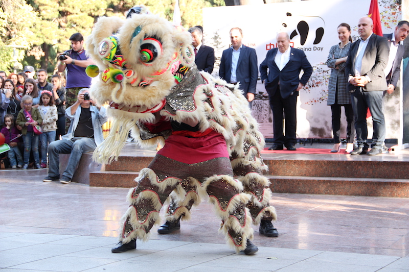 Chinese traditional Lion's dance