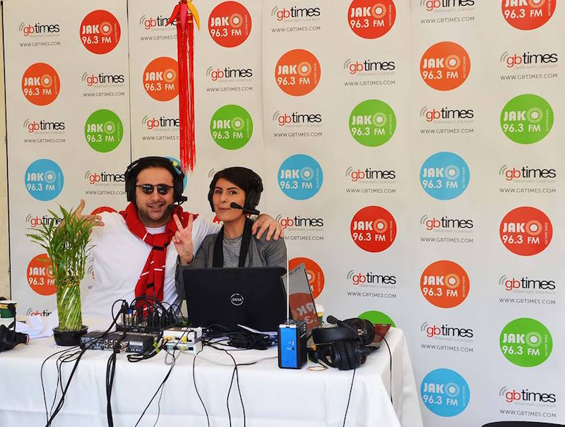 The broadcast stand of gbtimes Georgia and Radio JAKO provided 8 hours of live, on-site coverage of the China Day festivities