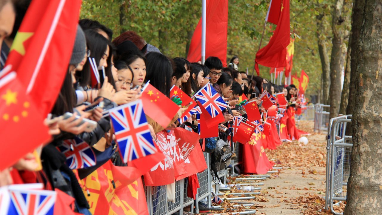 Britain's Chinese share their excitement at Xi's arrival