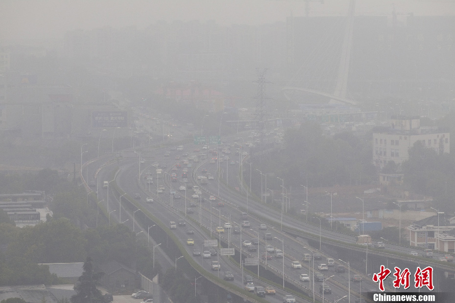 Chinese cities with worst air condition in 2017 revealed