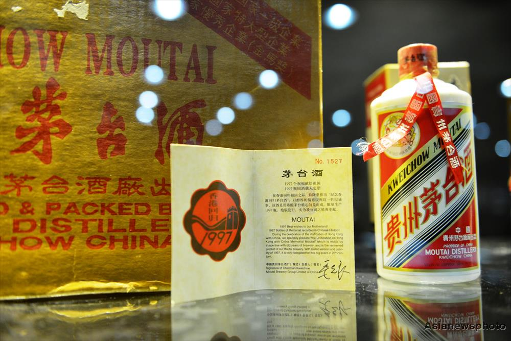 China's best-selling spirit brand sees surge in overseas sales