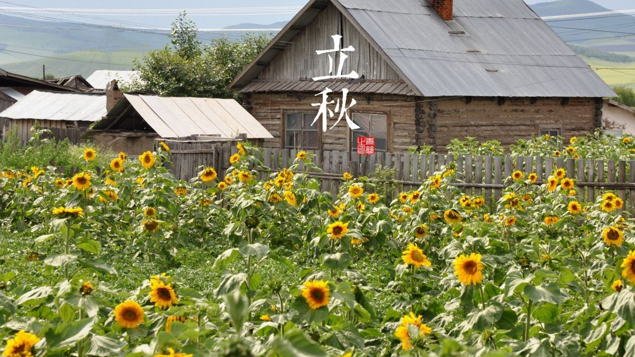 Chinese Solar Terms in autumn